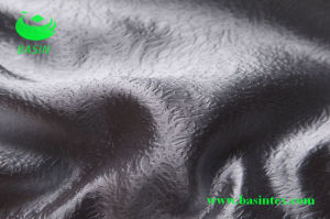 One-Side Embossed Polyester Fabric (BS3105) pictures & photos