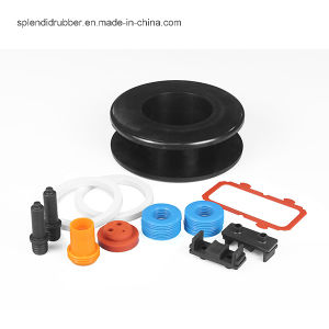 Colored Design Mechanical Rubber Seal Rubber Diaphragm