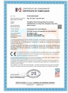 Milk 3000L/H High Pressure Homogenizer (GJB3000-25) pictures & photos