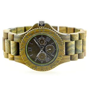 New Environmental Protection Japan Movement Wooden Fashion Watch Bg325 pictures & photos