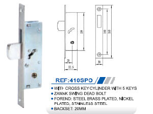 High Quality Aluminum Lock Body 410spo pictures & photos