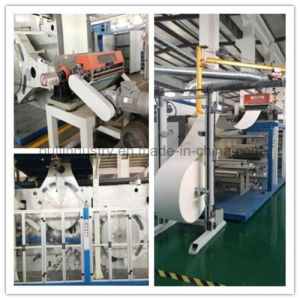Semi-Servo Baby Diaper Making Machine/Turn-Key Baby Diaper Factory Set up pictures & photos