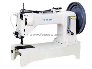 Heavy Duty Top and Bottom Feed Lockstitch Sewing Machine pictures & photos