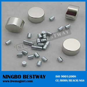 Rare Earth Cylinder Neodymium Magnet N45 pictures & photos