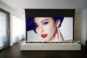 Motorized Tab Tensioned Proejction Screen Electric Projection Screen pictures & photos