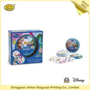 Custom Printed Paper Frozen Girls Card Game (JHXY-CG0015)