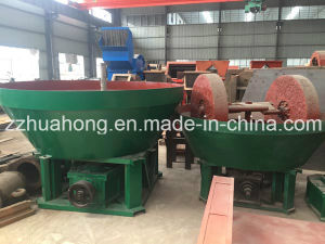 Wet Grinding Mill/ Gold Ore Roll Mill/Gold Ore Wet Pan Mill pictures & photos