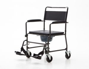 Commode Chair, Extra Weight, Wheeled Commode (YJ-7100J) pictures & photos