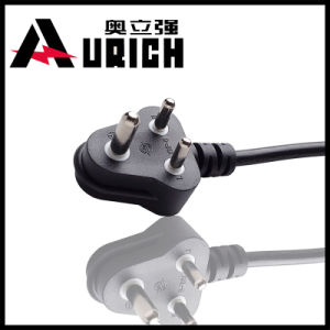 Model Dnf-16 16A 250V South Africa and India Used3 Pin AC Power Cord with Plug pictures & photos