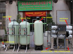 RO Reverse Osmosis System Drinking Water Treatment Machine 3000lph pictures & photos