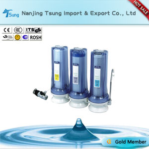 Counter Top 3 Stage Water Purifier with Metal Connector Ty-CT-C6 pictures & photos