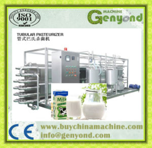 Tubular Sterilization Machine for Milk and Juice pictures & photos
