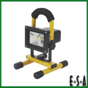 2015 Cheap New Design COB LED Flood Light, 10 Watt Rechargeable LED Flood Light, Easy to Carry Outdoor COB LED Flood Light G05b101 pictures & photos