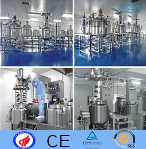 Cosmetic Stainless Steel Mixing Tanks pictures & photos
