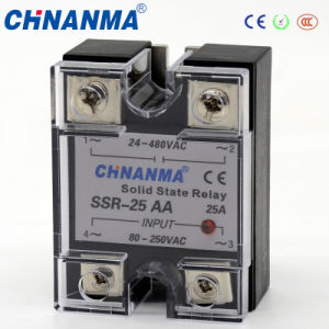 SSR-10da 10A 3-32V DC to 5-250V DC Solid State Relay pictures & photos