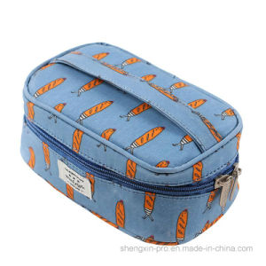 Cotton Cosmetic Bag with Logo Printing for Promotion pictures & photos