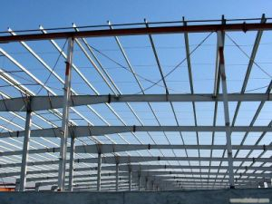 Manufacture and Installation Prefab Steel Structure for Workshop pictures & photos