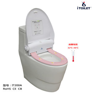 Hygienic Toilet Set with PE Sleeve Renewing for Bathroom