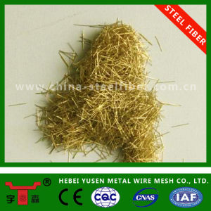 Copper Coated Micro Steel Wire Fiber pictures & photos