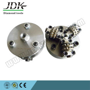 Diamond Rotary Bush Hammer for Litchi Surface pictures & photos