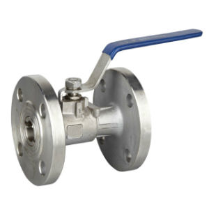 1PC RF Flanged Ball Valve with CE pictures & photos