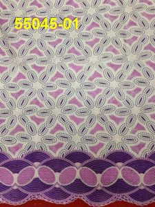 Latest Hot Sell Big Voile Lace for Wedding pictures & photos