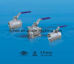 Stainless Steel 2PC Ball Valve pictures & photos