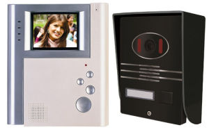 4 Inch Hands Free 4 Wires or 2 Wires Color Video Door Phone pictures & photos
