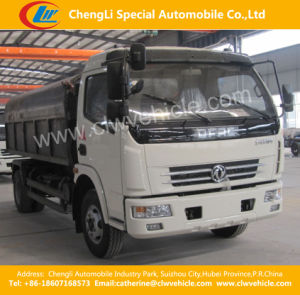 6cbm Dongfeng 4*2 Self-Load Sealed Garbage Truck pictures & photos