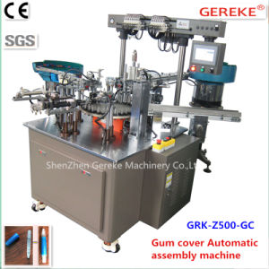 Stationery Pen Equipment-Gum Cover Automatic Assembly Machinery pictures & photos