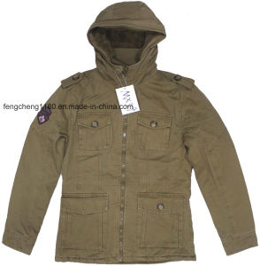 Fshion Cotton Washing Jacket/Coat for Men