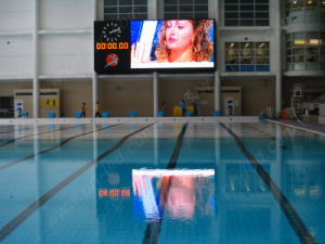 Full Color P6 Indoor Stadium LED Display for Advertising/Scoreboard pictures & photos