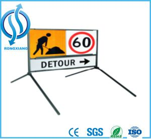 Roadway Traffic Temporary Sign Stands pictures & photos