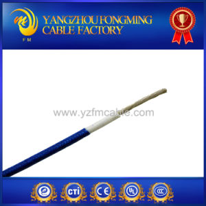 Heat Resistant Glass Fiber Braided Wire / Cable pictures & photos
