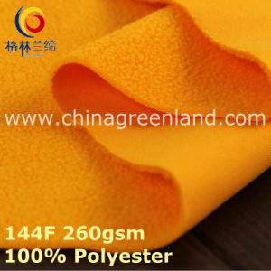 100%Polyester Knitted Polar Fleece Fabric for Warm Coat Textile (GLLML391) pictures & photos