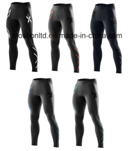Compression Tights Men Running Pants Exercise Tight pictures & photos