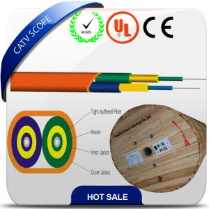Duplex Flat Cable Indoor Fiber Optic Wire