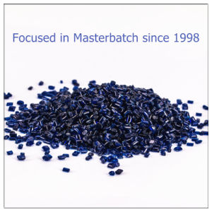 Transparent Blue Plastic Masterbatch for Injection
