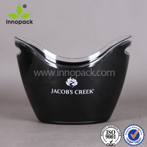Full Color Printing Shoe-Shaped Ingot Acrylic Ice Bucket Plastic Ice Bucket pictures & photos