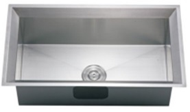 Handmade Square Stainless Steel SUS 304 Single Kitchen Sink (S8643) pictures & photos