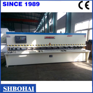 Popular Sold Steel/Metal Plate Shear (QC12K 6X4000) pictures & photos