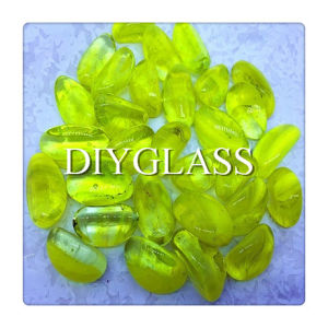 Yellow Glass Gem pictures & photos