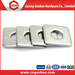 Stainless Steel Square Washer SS304 Ss316 pictures & photos