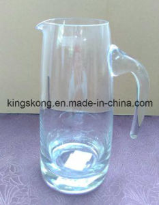 Hot Sale Glass Water Jug / Wide Mouth Cooler Jug with Decal /Good Quality Customized Decal Jug pictures & photos