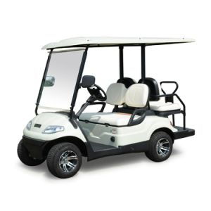 Hot Sale 4 Wheels Electric Club Car Four Seats pictures & photos