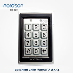 Em ID 125kHz or 13.56MHz Metal Standalone RFID Proximity Card Door Access Control System pictures & photos