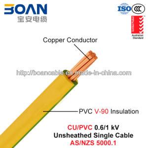 Cu/PVC, Unsheathed V-90 Single Cable, 0.6/1 Kv, 1/C (AS/NZS 5000.1) pictures & photos
