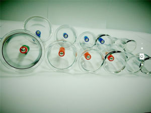 Acupunture Plastic Manual Cupping Cups pictures & photos