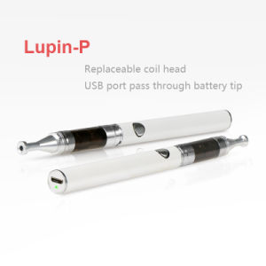 The Newest Jsb Lupin-P Smoking Pipe, Micro USB Electric Cigarette Smoking Glass Pipe, Pen Shape Vapor Kit