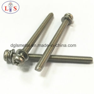 Stainless Steel Bolt/Pan Head Bolt with Washers pictures & photos